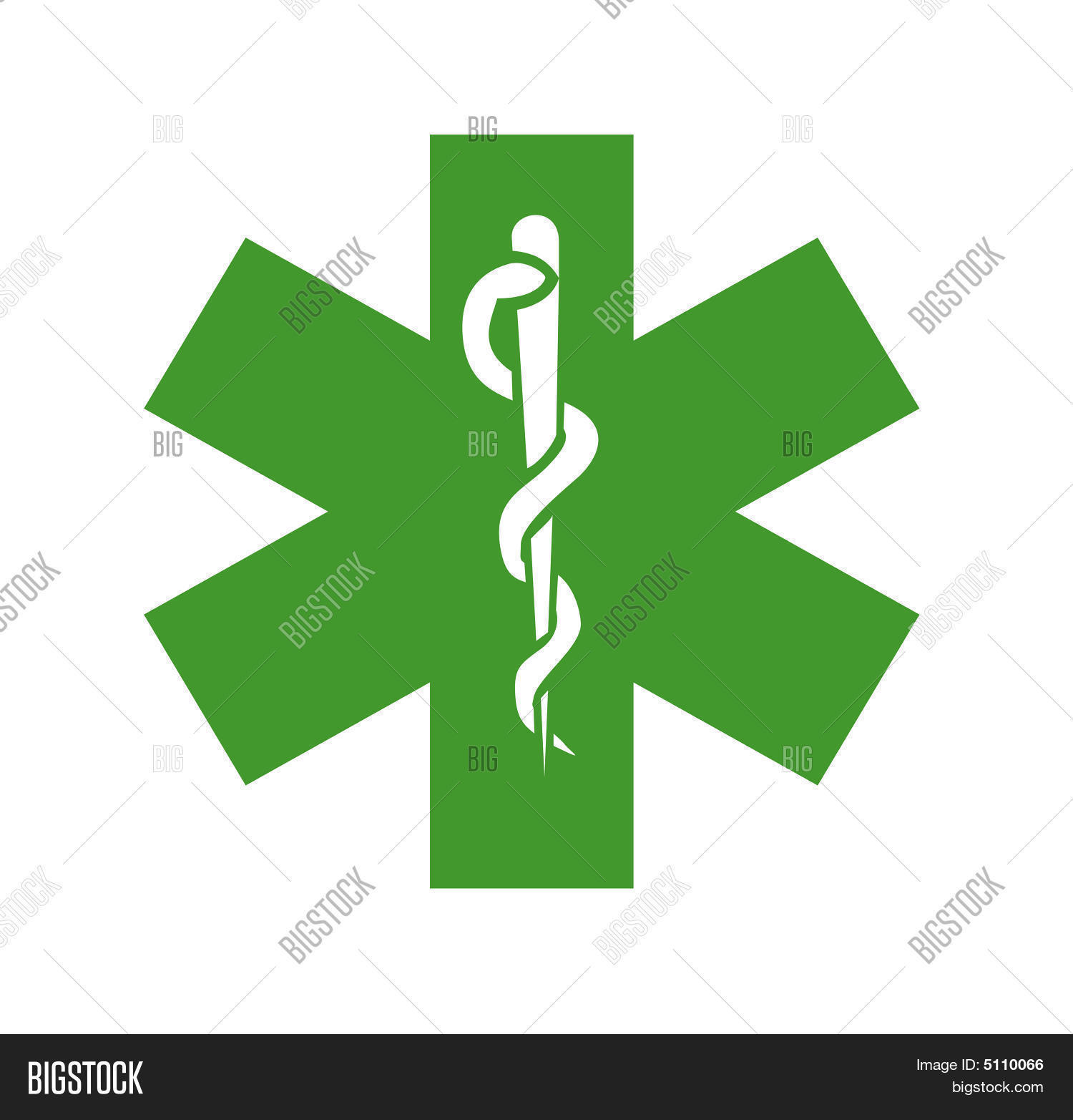 Green amp; free Medical Photo Trial Bigstock Vector Symbol