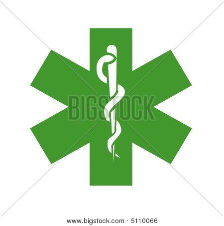 Green Medical Symbol, Logo
