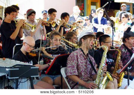 Berkeley High School Jazz Ensemble 02
