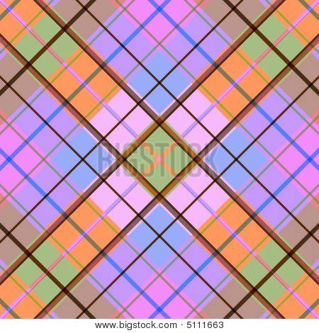 Diagonal Seamless Geometric Background
