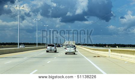 Crossing The Biloxi Bay Bridge