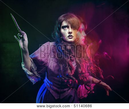 Witch And The Magic Wand