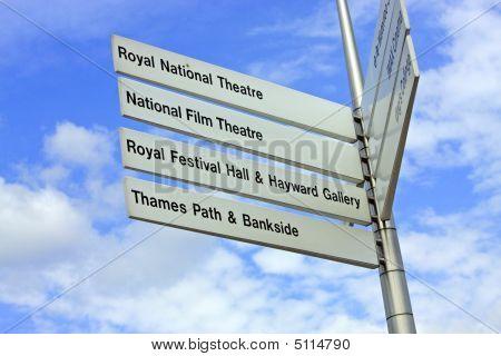 London Landmarks Sign