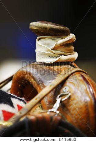 Western Roping Saddle Horn