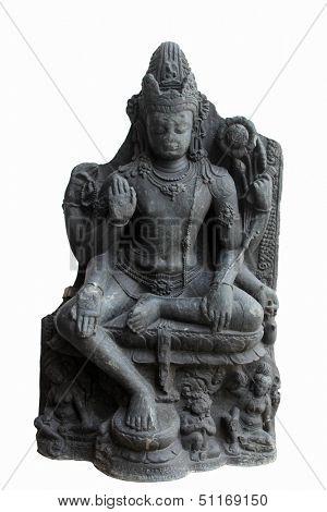 Six armed Avalokitesvara, from 10th century found in Nalanda, Bihar, India