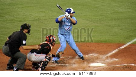 Jose Bautista At The Plate