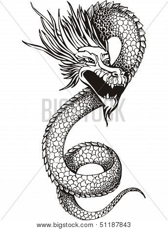 Chinese Dragon Serpent