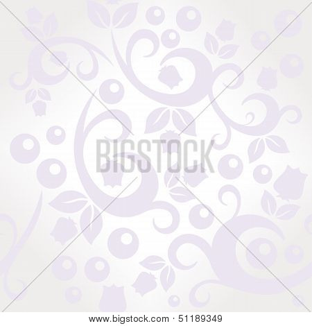 Elegant Floral Vintage Seamless Pattern Background For Your Design