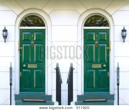 Symmetric Front Doors