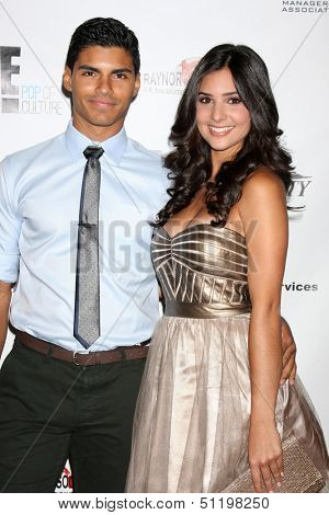 LOS ANGELES - SEP 19:  Marlon Aquino, Camila Banus at the Heller Awards 2013 at Beverly Hilton Hotel on September 19, 2013 in Beverly Hills, CA