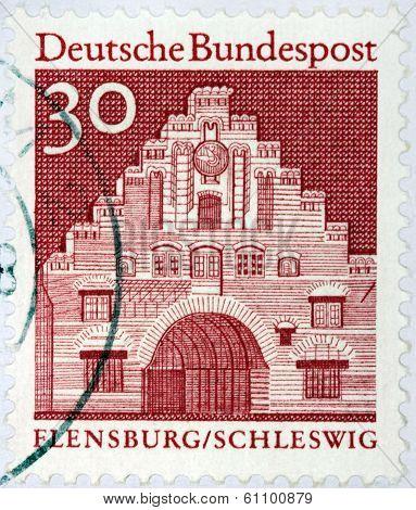 Flensburg Stamp