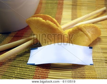 Blank Fortune Cookie