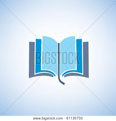 Book Isolated Vector Symbol