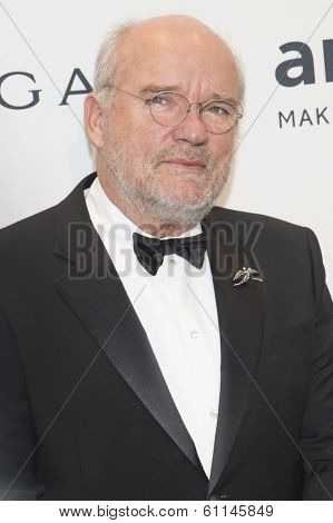 NEW YORK-FEB 5: Photographer Peter Lindbergh attends the 2014 amfAR New York Gala at Cipriani Wall Street on February 5, 2014 in New York City.