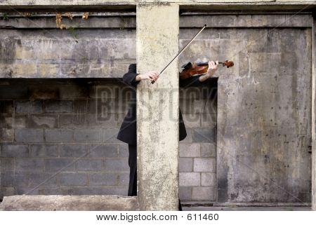 Violinist Hidden