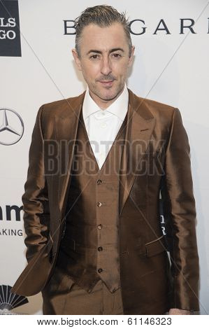 NEW YORK-FEB 5: Actor Alan Cumming attends the 2014 amfAR New York Gala at Cipriani Wall Street on February 5, 2014 in New York City.