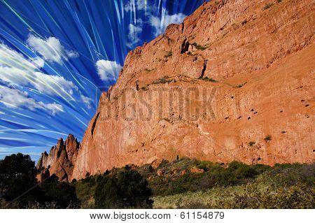 Red Rock Blue Skies