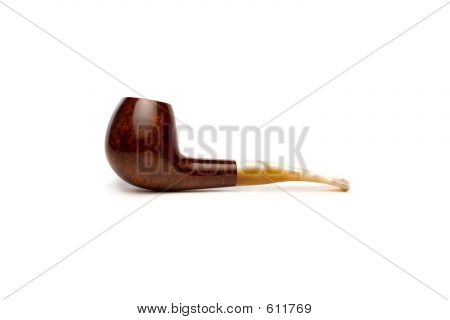 Pipe On White II