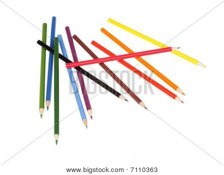 Multicolored Pencils