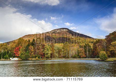 Yonah Mountain in North Georgia, USA.