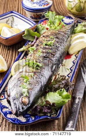 grilled bonito poster