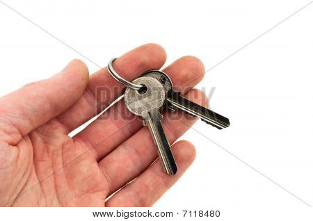 Two Keys In Hand