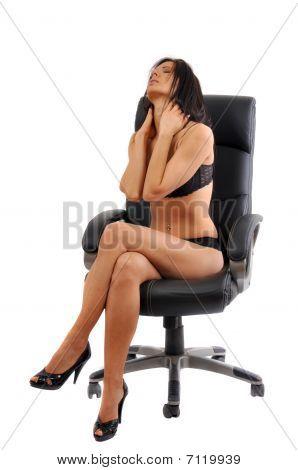 Sexy Young Woman Having Headache