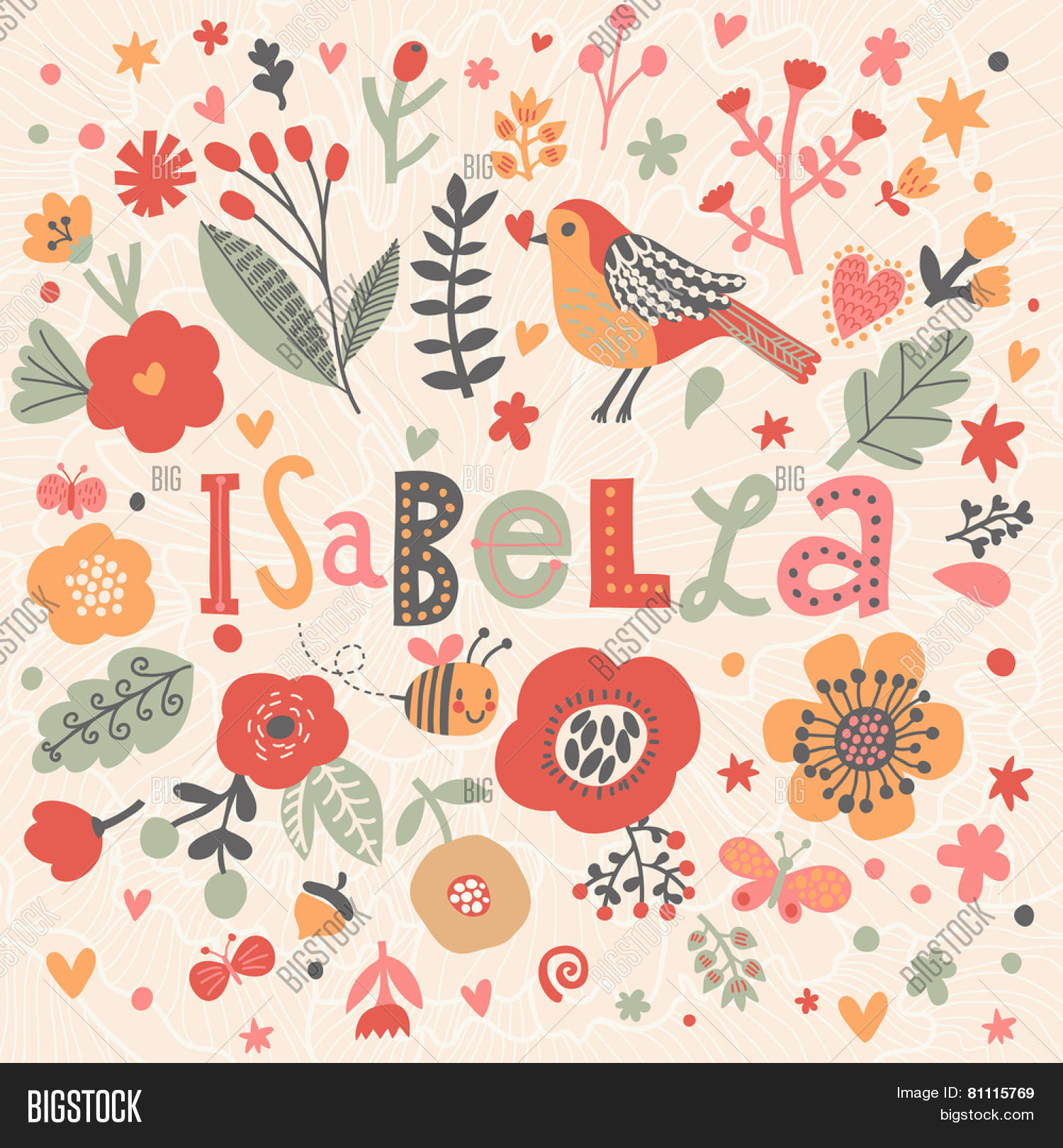 Isabella Name Design