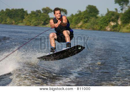 wakeboard jump