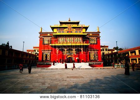 Shechen Monastery In Kathmandu, Nepal