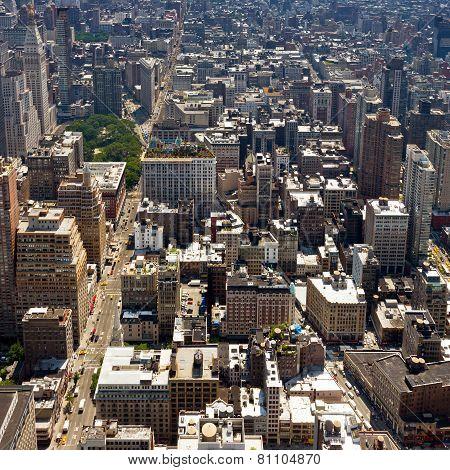 New York City - Downtown Manhattan Buildings