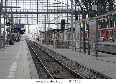 Empty Trainstation