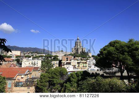 City of Messina in Sicily