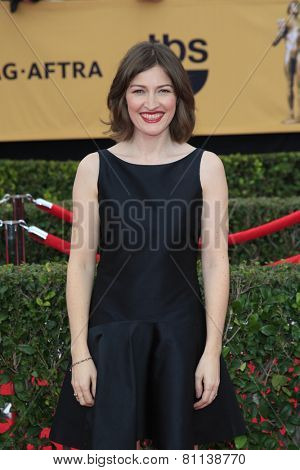 LOS ANGELES - JAN 25:  Kelly MacDonald at the 2015 Screen Actor Guild Awards at the Shrine Auditorium on January 25, 2015 in Los Angeles, CA