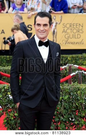 LOS ANGELES - JAN 25:  Ty Burrell at the 2015 Screen Actor Guild Awards at the Shrine Auditorium on January 25, 2015 in Los Angeles, CA