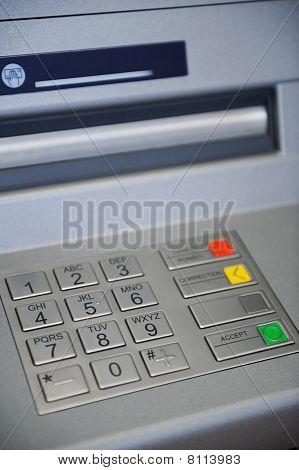 ATM Machine keyboard