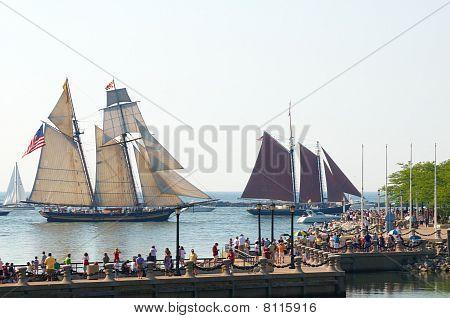 Tall Ship Chase