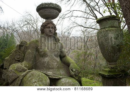 Goddess Ceres Statue, Bomarzo, Italy