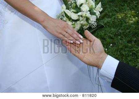 Hands married