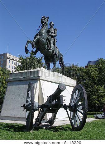 Washington Andrew Jackson Monument 2004