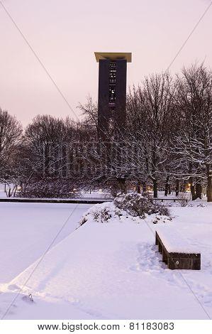 Carillon In Berlin-tiergarten