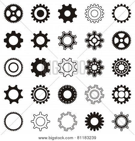 Gear Wheel Icons