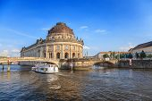 Bode Museum on museum island of Berlin Germany poster
