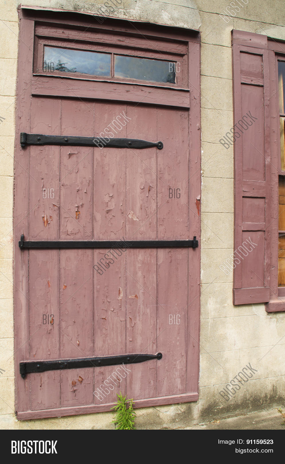 Barn Door Entrance Image Photo Free Trial Bigstock