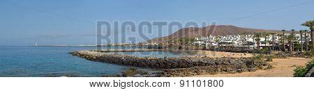 Western end of Playa Blanca