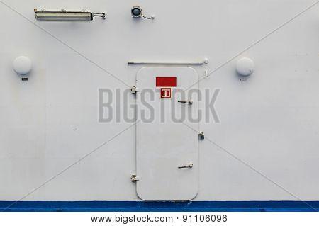 Ships Watertight Door