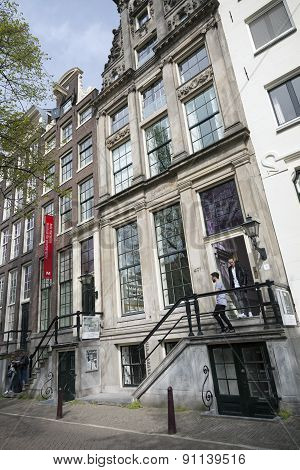 Museum For Photography Huis Marseille On Prinsengracht In Centre Of Amsterdam