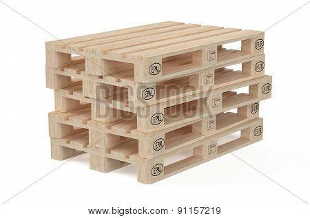 Wooden Eur Pallets