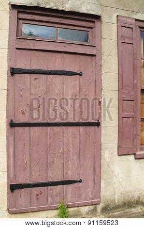 Barn Door Entrance