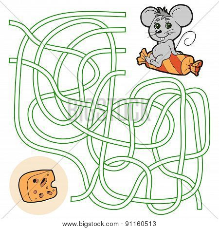 Maze Game For Children (mouse)